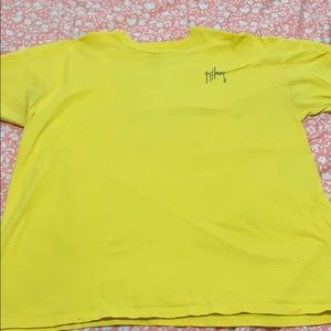 2x guy harvey yellow short sleeve shirt